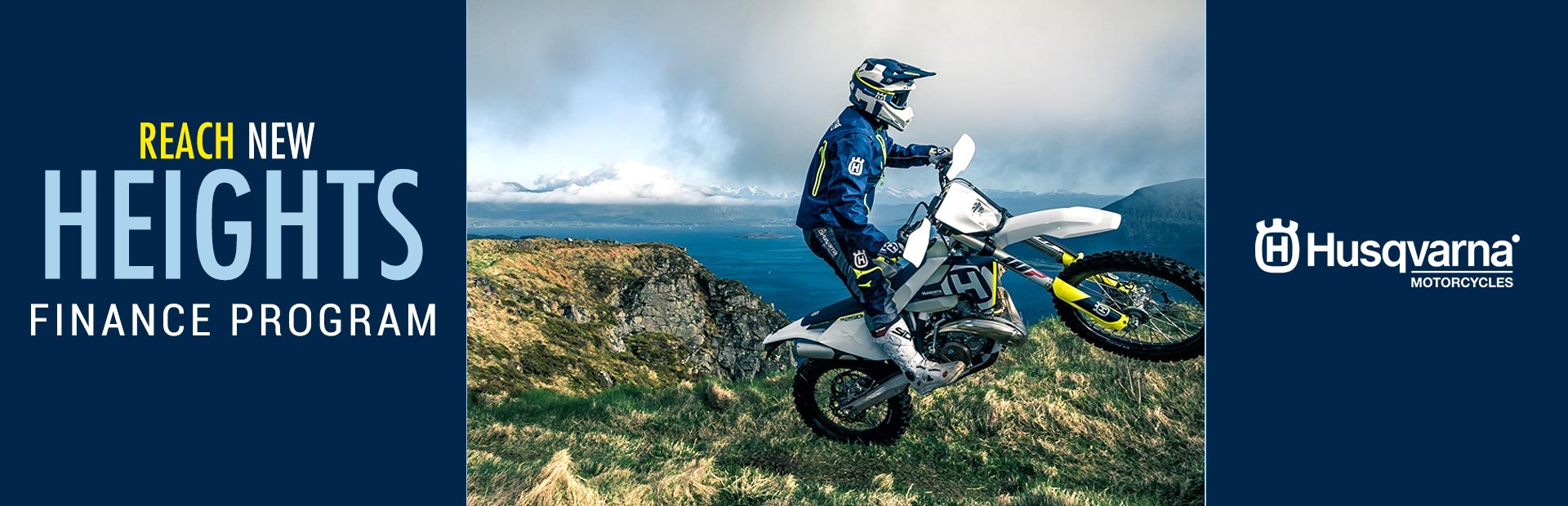 Husqvarna Motorcycles: Reach New Heights – Retail Finance Program