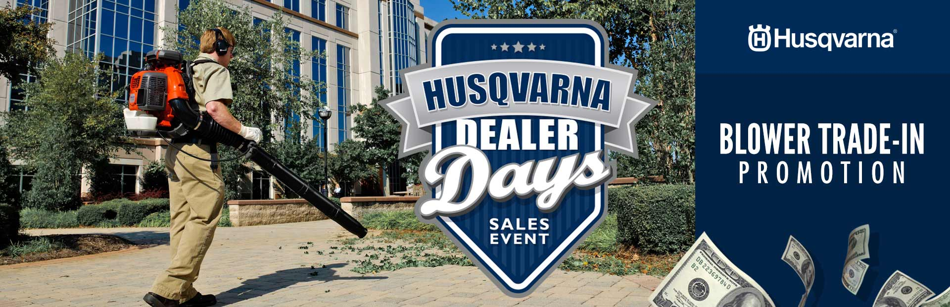 Husqvarna: Blower Trade-In Promotion