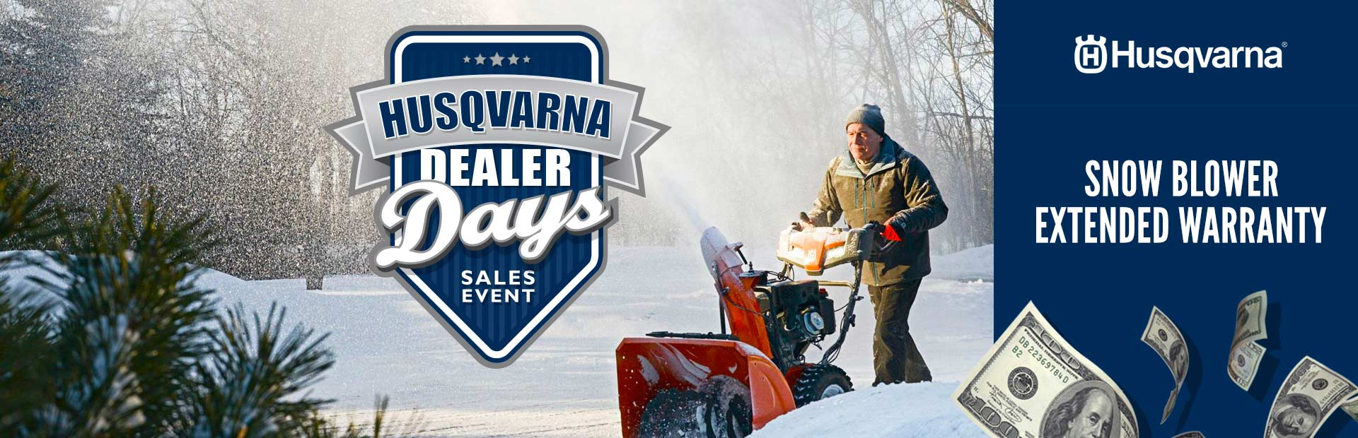 Husqvarna: Snow Blower Extended Warranty
