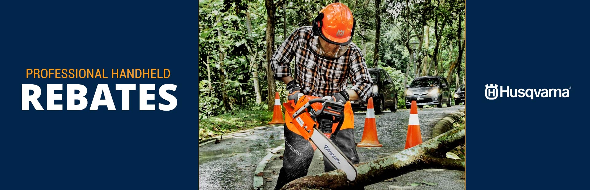 Husqvarna: Professional Handheld Rebates