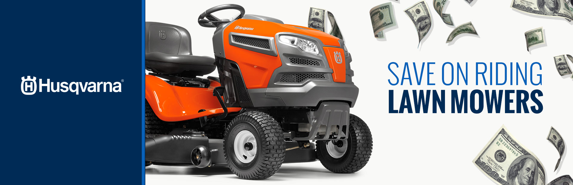 Husqvarna: Save on Riding Lawn Mowers