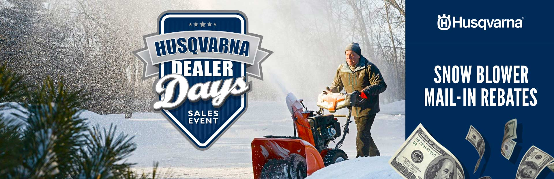 Husqvarna: Snow Blower Mail-In Rebates