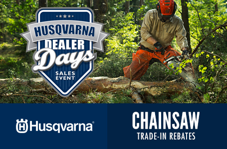 Chainsaw Trade-In Rebates