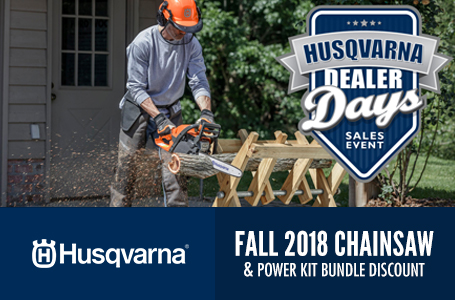 Fall 2018 Chainsaw and Power Kit Bundle Discount