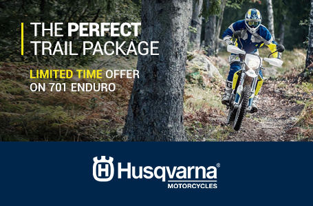 Limited Time Offer on 701 Enduro
