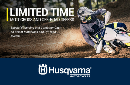 Limited Time Motocross and Off-Road Offers