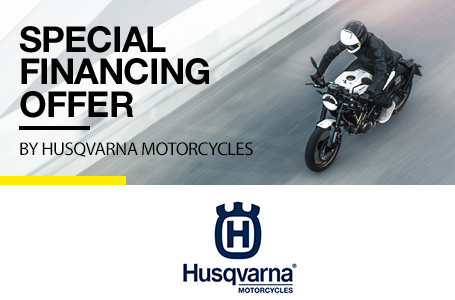 Special Financing Offer by Husqvarna Motorcycles
