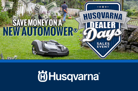 Save Money on a New Automower®