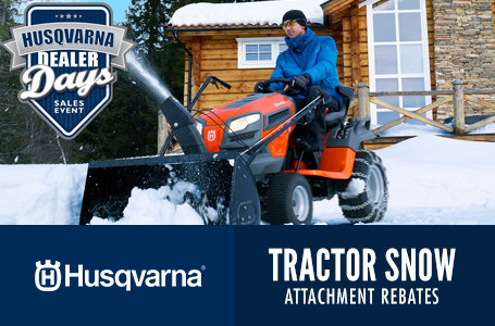 Tractor Snow Attachment Rebates
