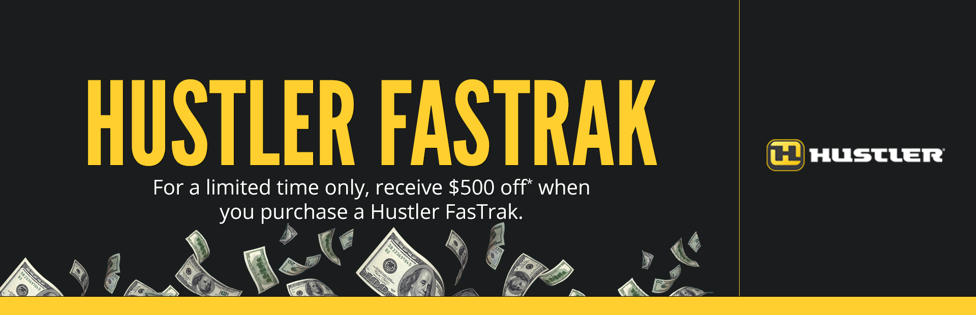 Hustler Turf Equipment: Hustler Fastrak Promotion