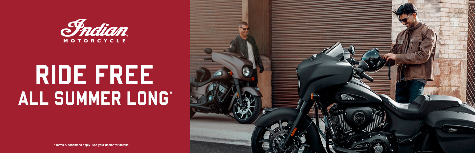 Indian Motorcycle: Ride Free All Summer Long