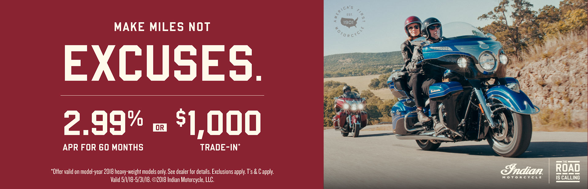 Indian Motorcycle: The Road is Calling