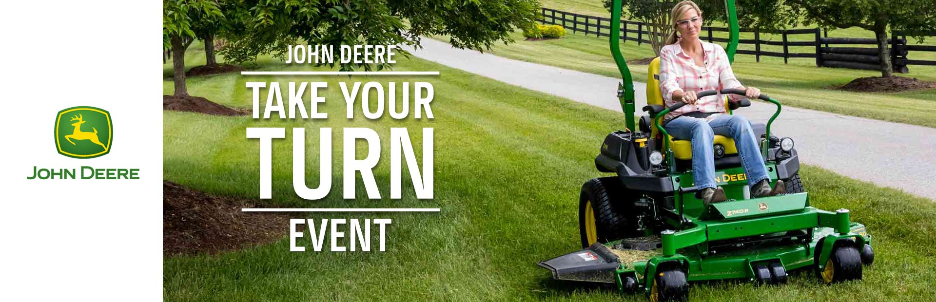 John Deere: Take Your Turn Test Drive Event