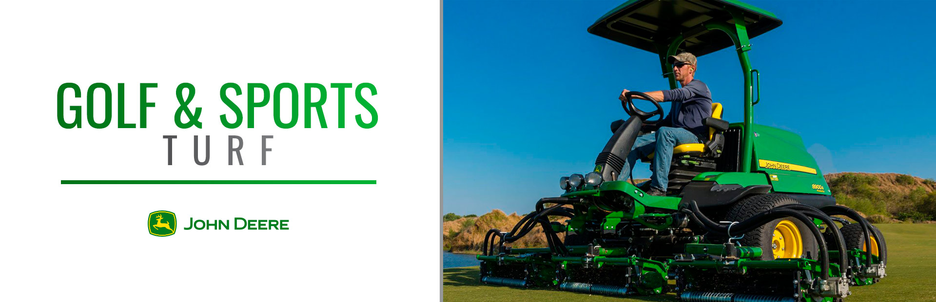 John Deere: Golf & Sports Turf