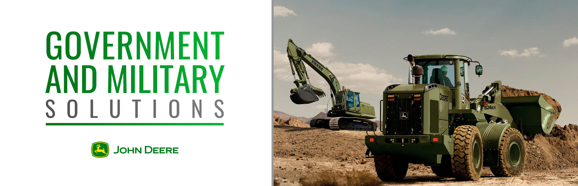 John Deere: Government and Military Solutions