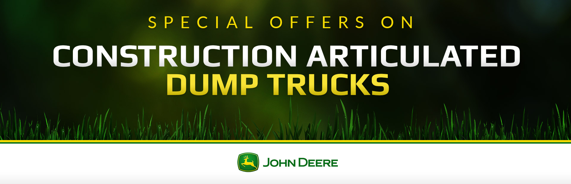 John Deere: Construction Articulated Dump Trucks
