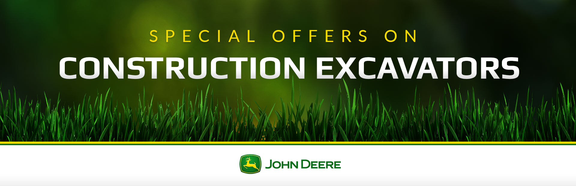 John Deere: Construction Excavators