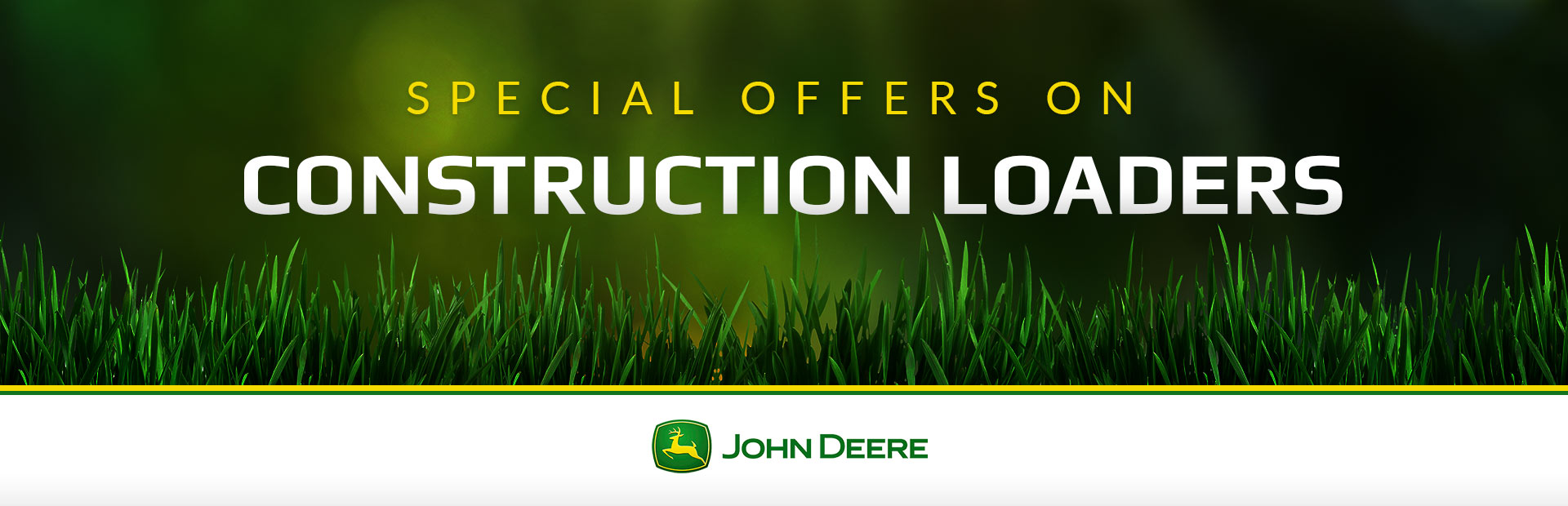 John Deere: Construction Loaders
