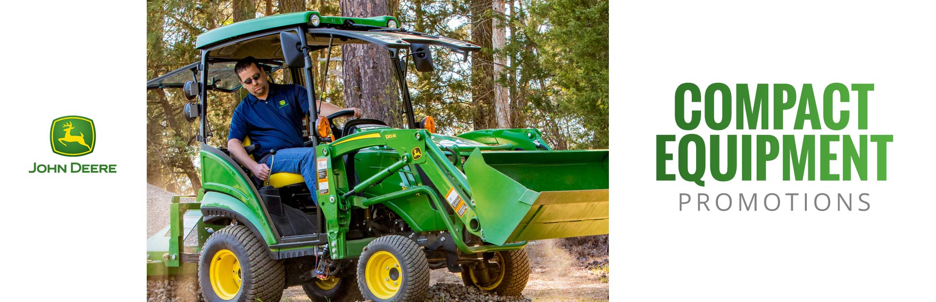 John Deere: Compact Equipment
