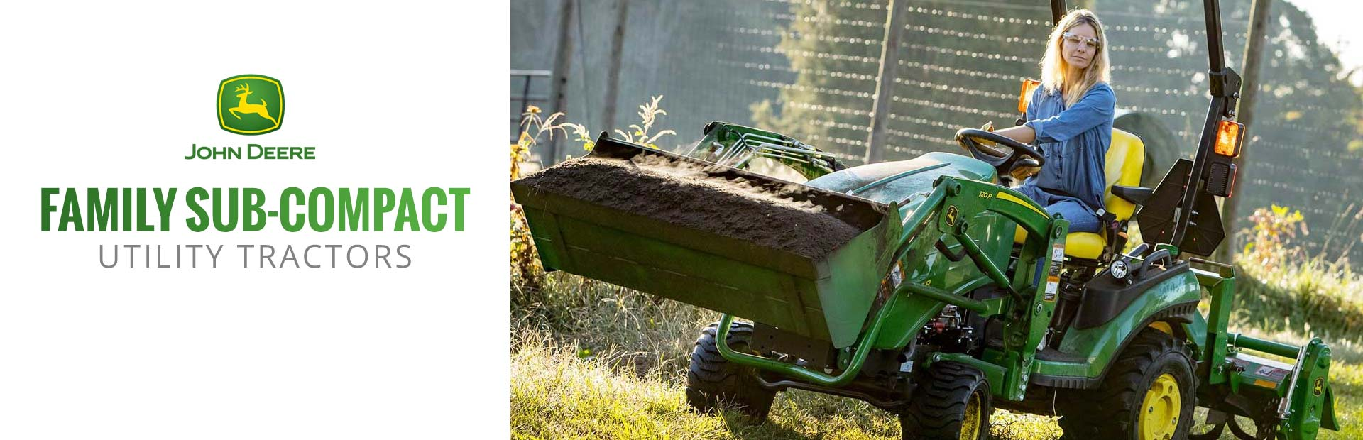 John Deere: Family Sub-Compact Utility Tractors
