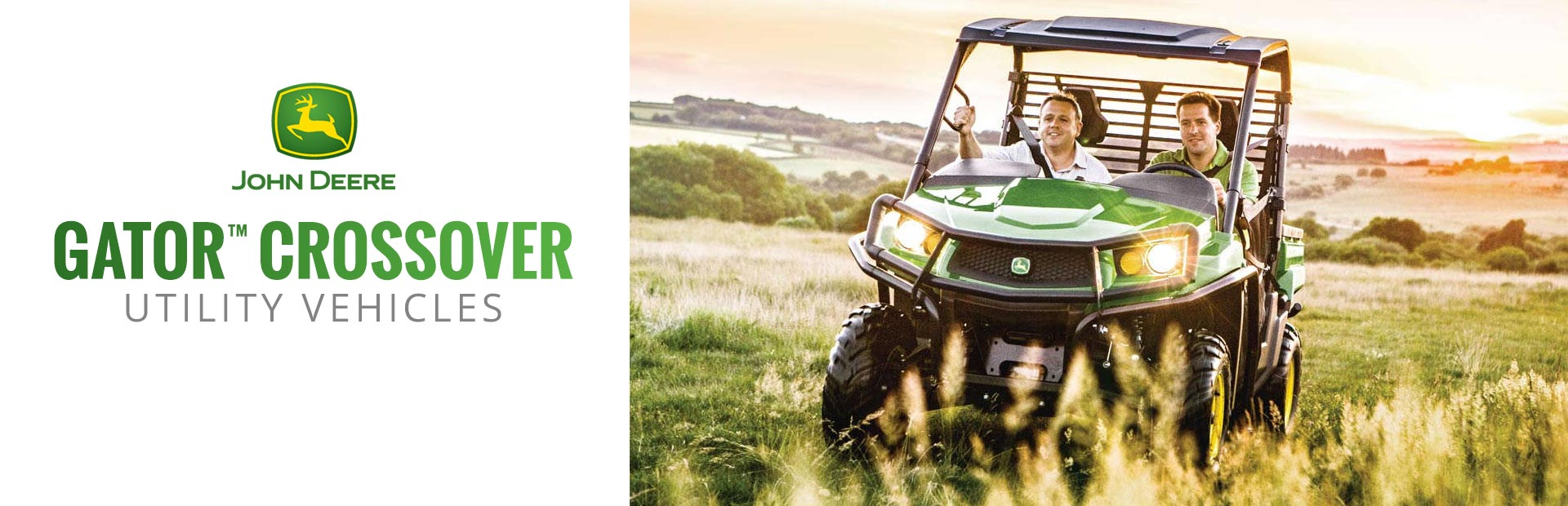 John Deere: Gator™ Crossover Utility Vehicles