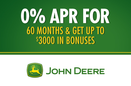 0% APR for 60 Months & Get up to $3000 in Bonuses