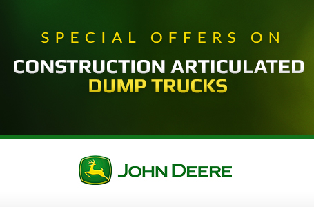 Construction Articulated Dump Trucks