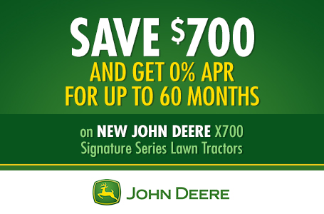 Save $700 AND Get 0% APR for up to 60 Months