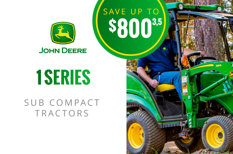 1 Series Sub-Compact Tractors