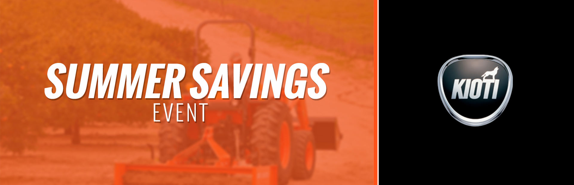 KIOTI: Summer Savings Event
