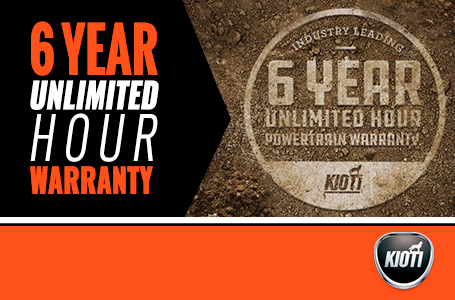 6 Year Unlimited Hour Warranty