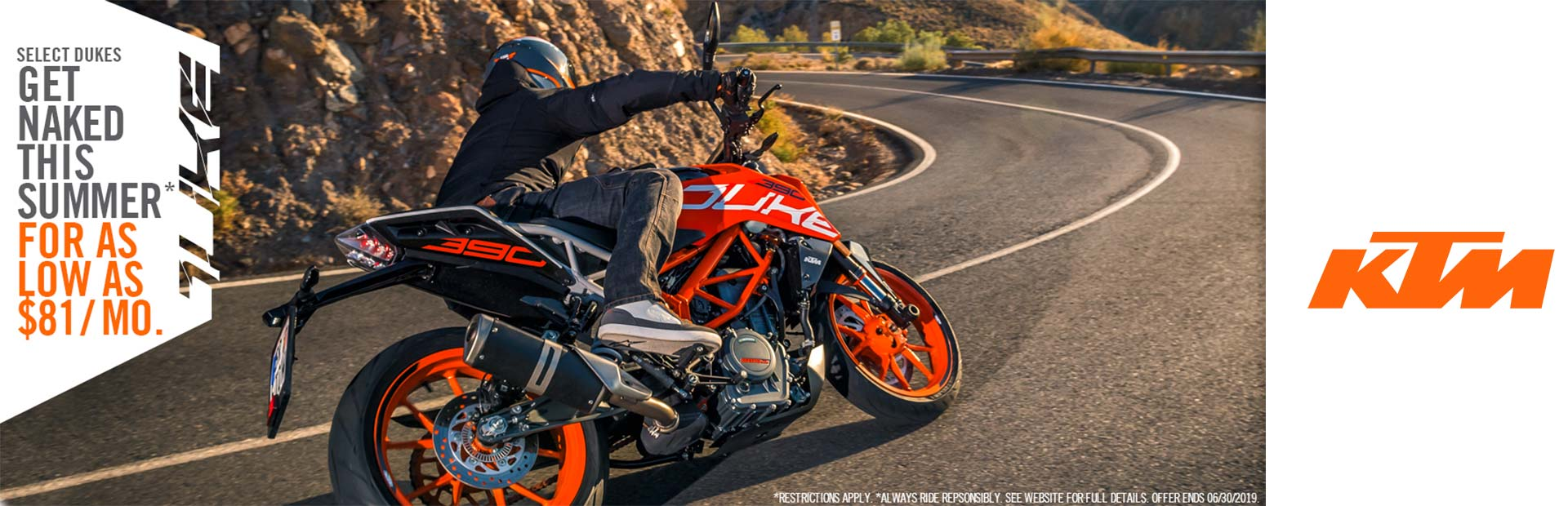 KTM: GET NAKED THIS SUMMER