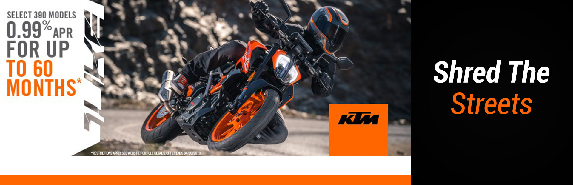 KTM: Shred the Streets