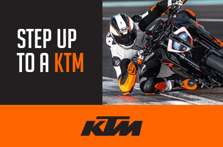 STEP UP TO A KTM