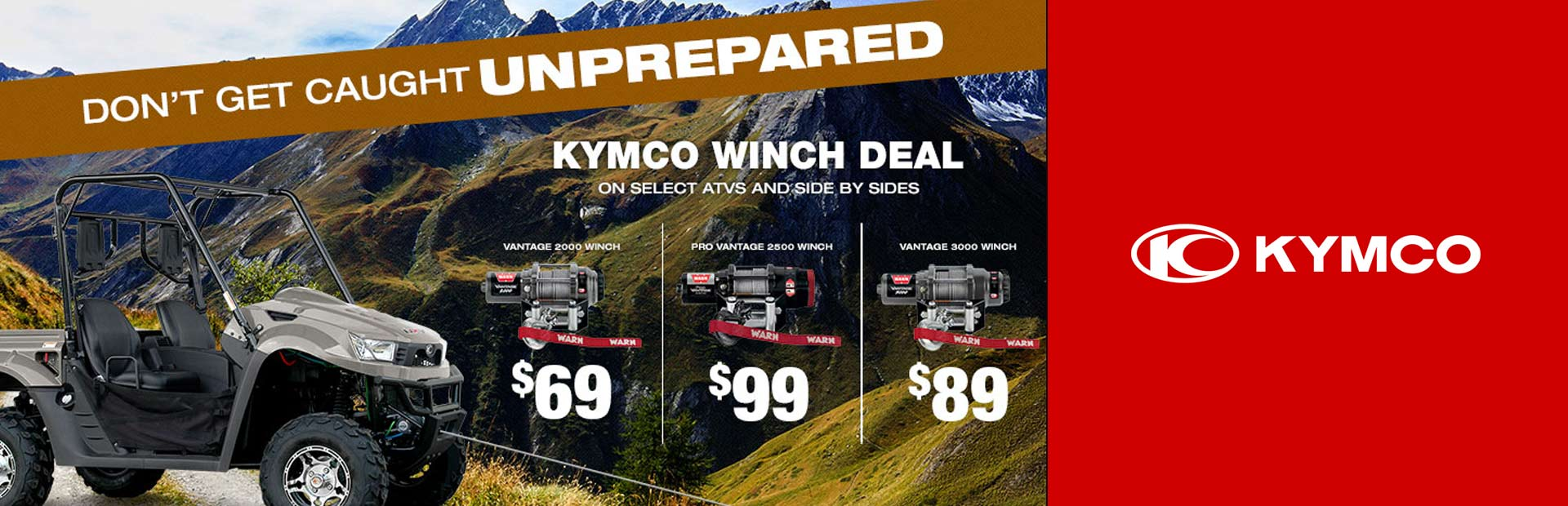 KYMCO: Winch Deal