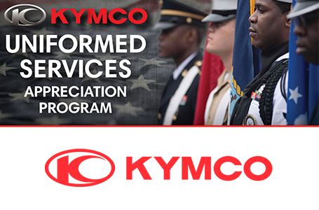 KYMCO Uniformed Services Appreciation Program