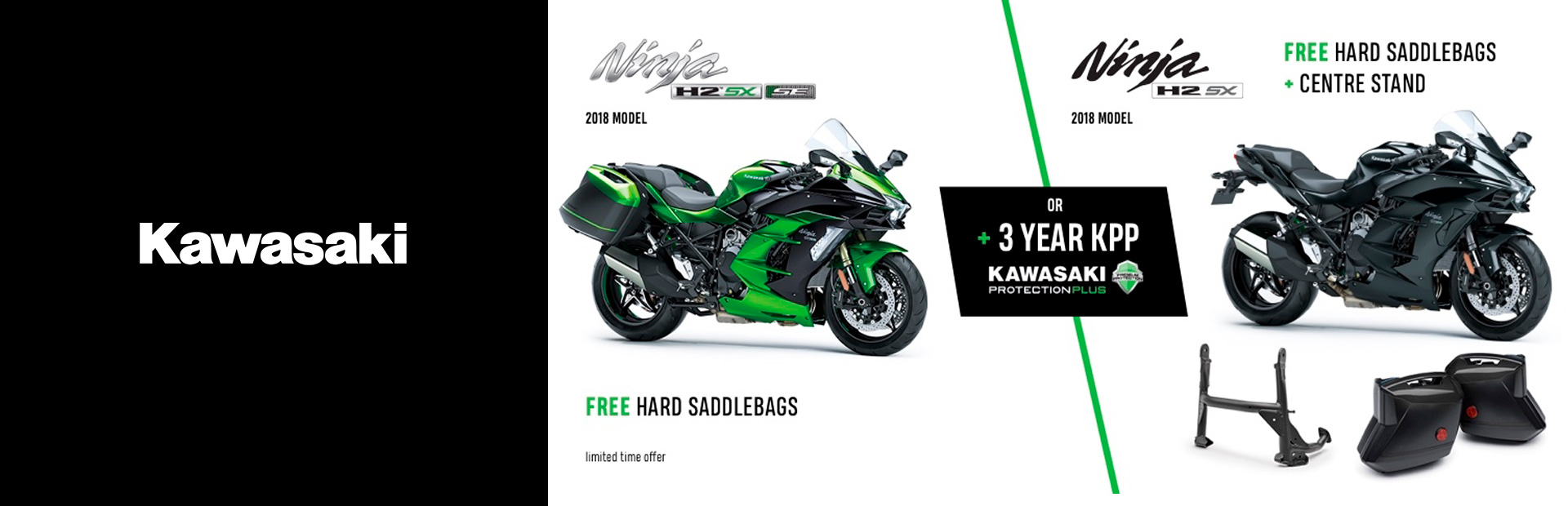 Kawasaki: H2 SX Accessories Offer
