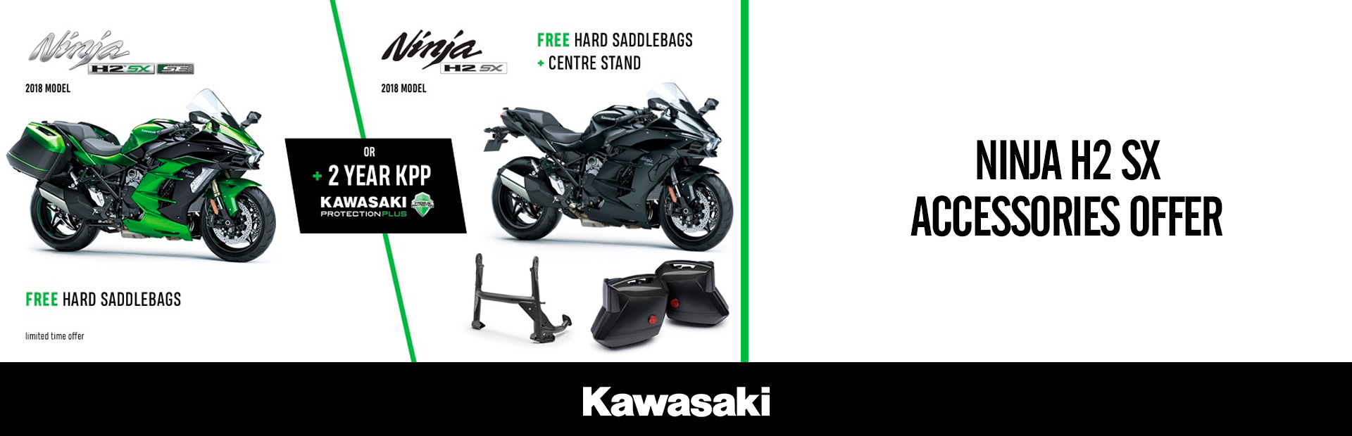 Kawasaki: NINJA H2 SX ACCESSORIES OFFER