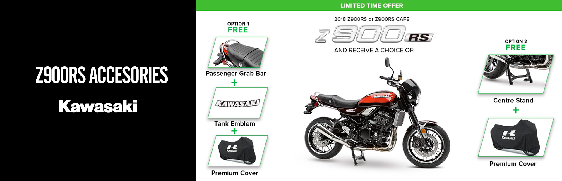 Kawasaki: Z900RS Accessories