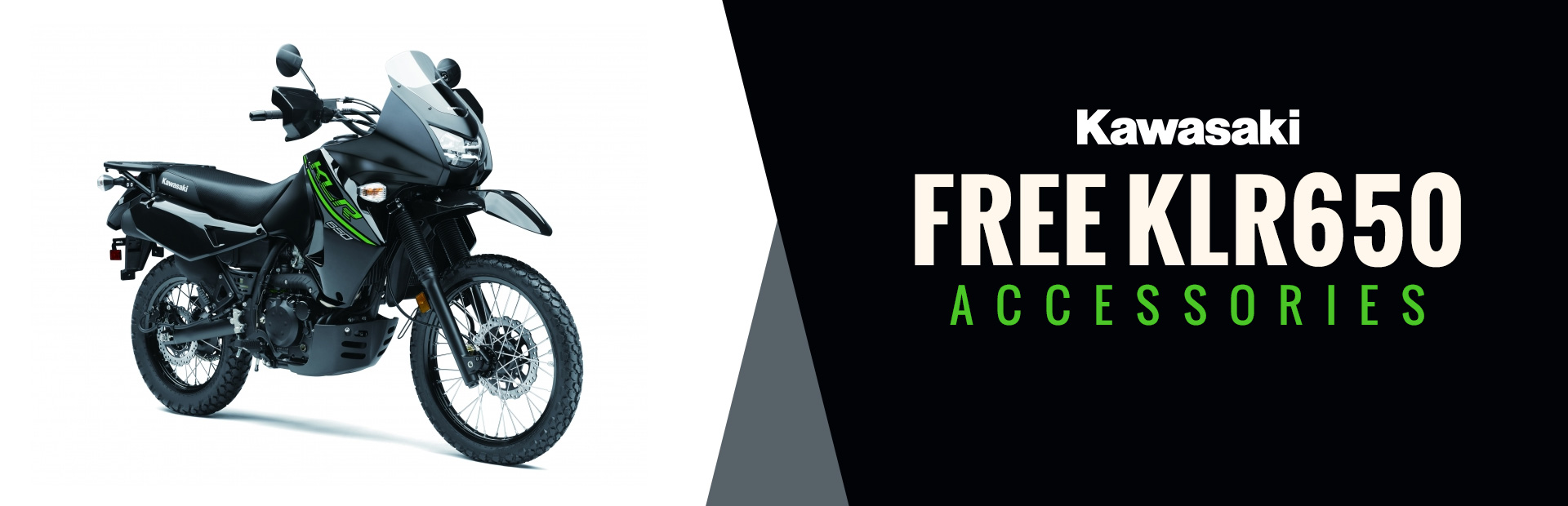 Kawasaki: Free KLR650 Accessories