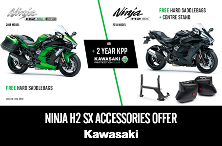 NINJA H2 SX ACCESSORIES OFFER