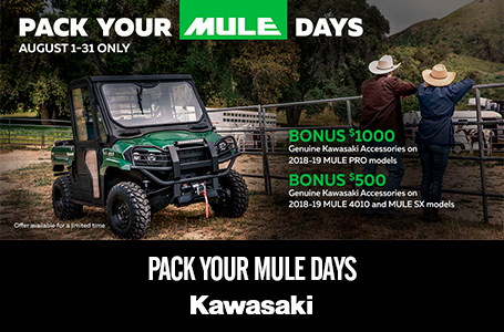 Pack Your MULE Days