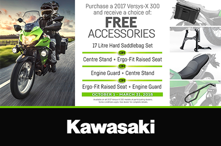 Versys-X 300 Accessory Promotion