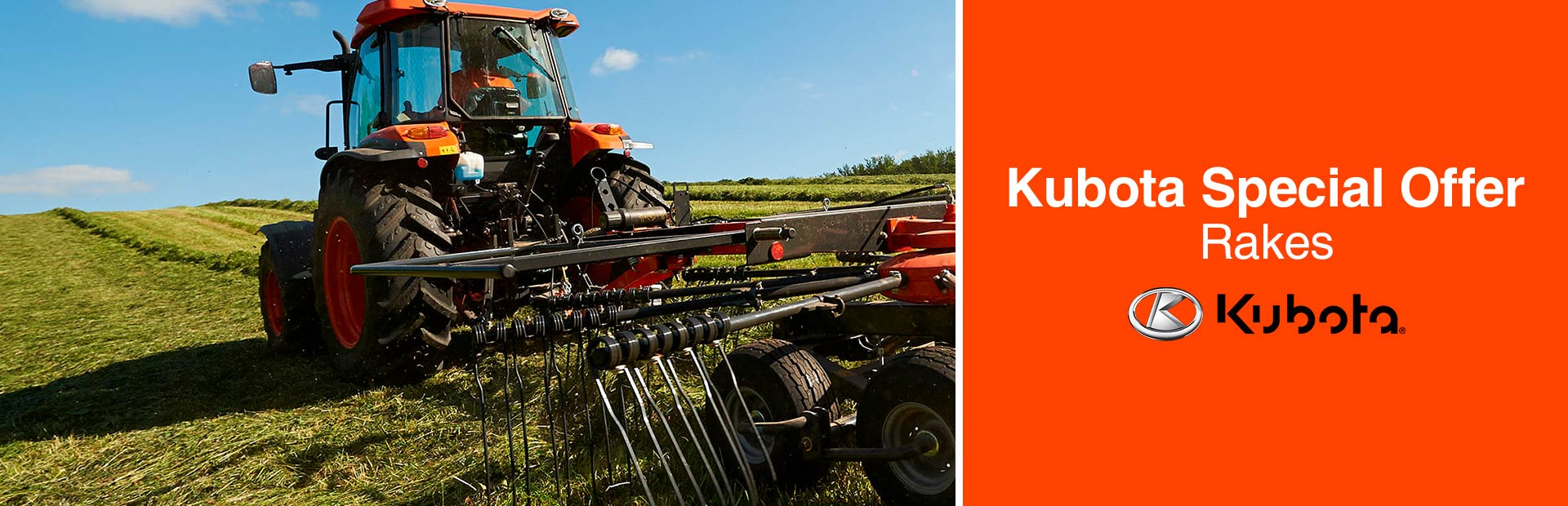 Kubota: Kubota Special Offer - Rakes