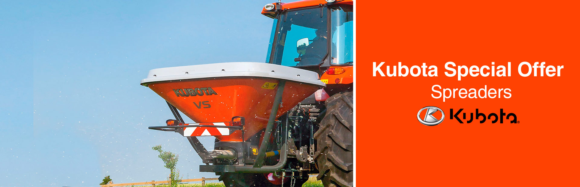 Kubota: Kubota Special Offer - Spreaders