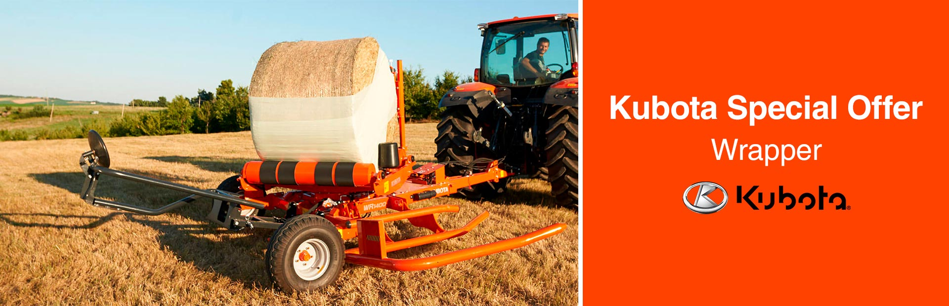 Kubota: Kubota Special Offer - Wrappers