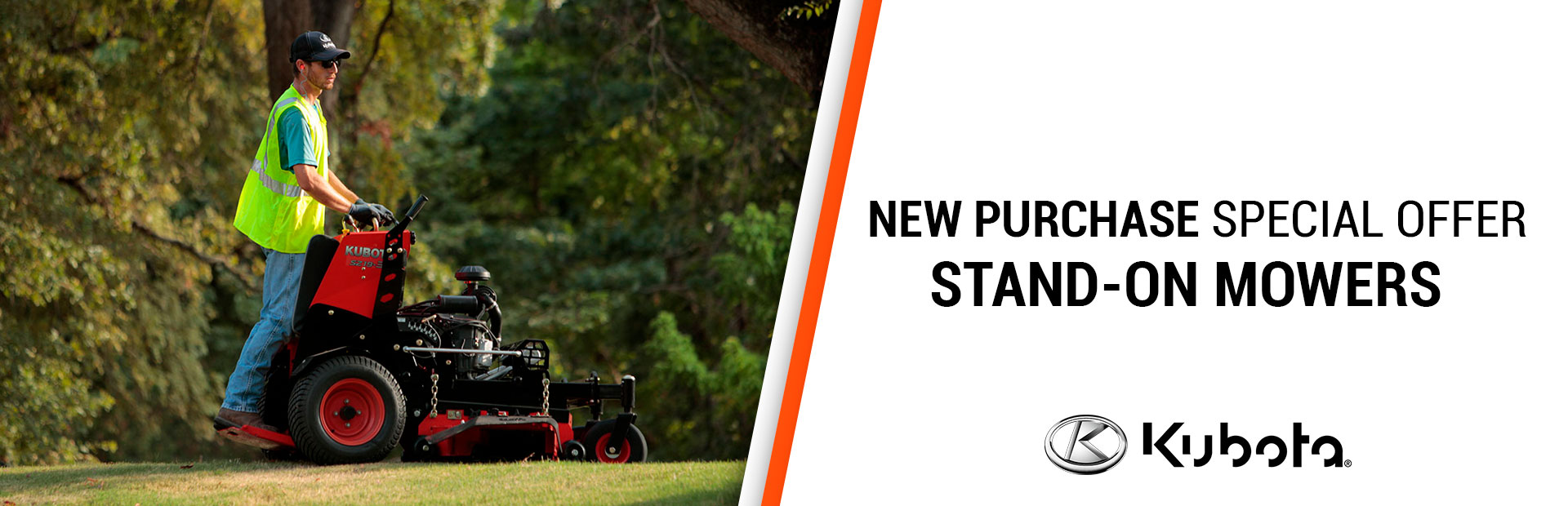 Kubota: New Purchase Special Offer - Stand-On Mowers