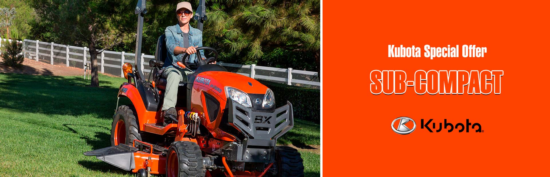 Kubota - Kubota Special Offer - Tractors Sub-Compact Valley