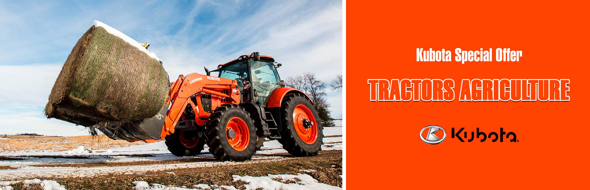 Kubota: Kubota Special Offer - Tractors Agriculture