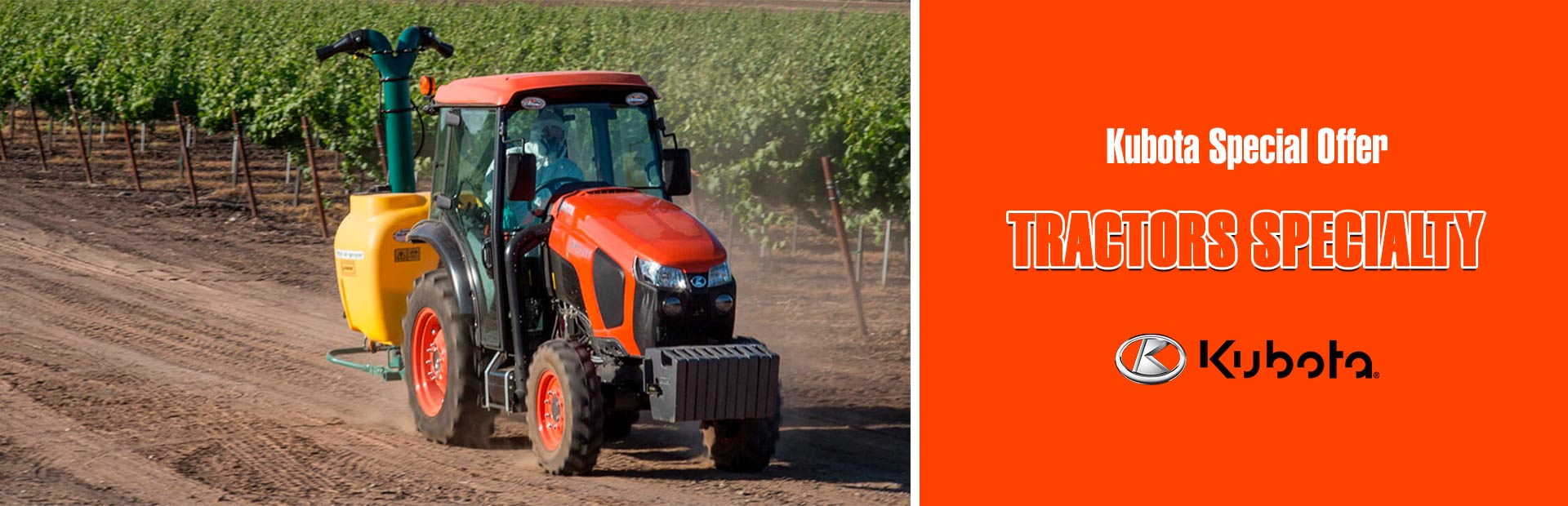 Kubota: Kubota Special Offer - Tractors Specialty